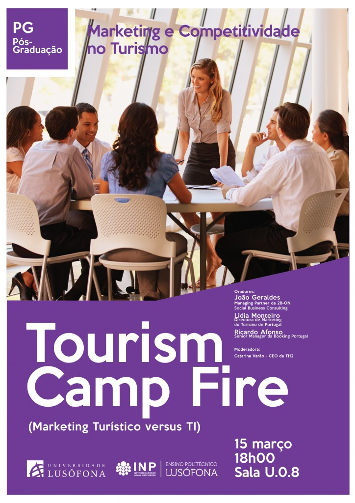 1st Edition of the Tourism Camp Fire of the Universidade Lusófona