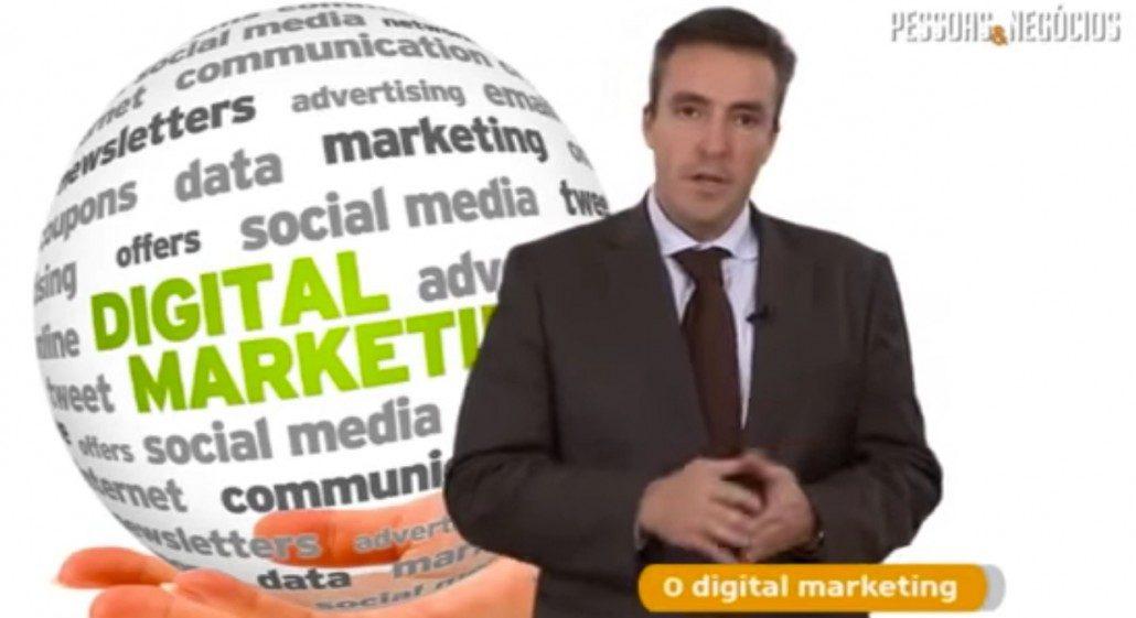 Vídeo Marketing Digital in the TV Program Pessoas e Negócios